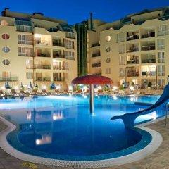 Отель Viva Apartments Болгария, Солнечный берег - отзывы, цены и фото номеров - забронировать отель Viva Apartments онлайн бассейн фото 3