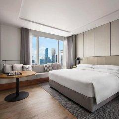 Отель Marriott Bangkok The Surawongse Бангкок комната для гостей фото 2