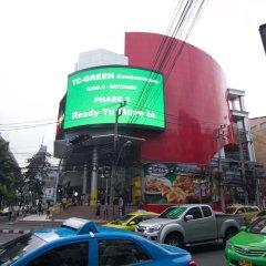 Отель Sky Inn 2 Бангкок парковка