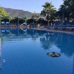 Champagne Apartments Турция, Мармарис - отзывы, цены и фото номеров - забронировать отель Champagne Apartments онлайн бассейн