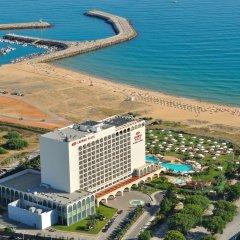Отель Crowne Plaza Vilamoura Португалия, Виламура - 2 отзыва об отеле, цены и фото номеров - забронировать отель Crowne Plaza Vilamoura онлайн пляж