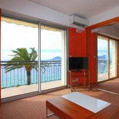Отель Residence Coeur De Cannes Beach Франция, Канны - отзывы, цены и фото номеров - забронировать отель Residence Coeur De Cannes Beach онлайн комната для гостей фото 3