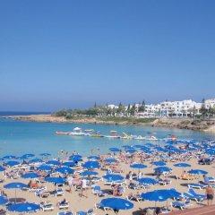 Отель Konnos 2 Bedroom Apartment Кипр, Протарас - отзывы, цены и фото номеров - забронировать отель Konnos 2 Bedroom Apartment онлайн пляж фото 2