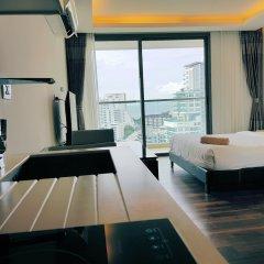 Отель The Peak 1BR-1708 by Pattaya Holiday Паттайя комната для гостей фото 3