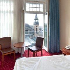Отель Novum Hotel Kronprinz Hamburg Hauptbahnhof Германия, Гамбург - 2 отзыва об отеле, цены и фото номеров - забронировать отель Novum Hotel Kronprinz Hamburg Hauptbahnhof онлайн комната для гостей