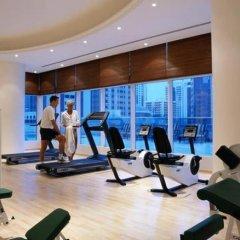 Отель CORNICHE Абу-Даби фитнесс-зал фото 2
