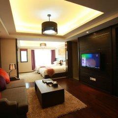 Апартаменты Chengdu Jianian CEO Apartment комната для гостей фото 3