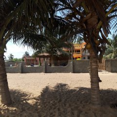 Отель The Beach house Гана, Шама - отзывы, цены и фото номеров - забронировать отель The Beach house онлайн пляж фото 2