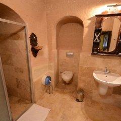 Cappadocia Abras Cave Hotel Турция, Ургуп - 1 отзыв об отеле, цены и фото номеров - забронировать отель Cappadocia Abras Cave Hotel онлайн ванная