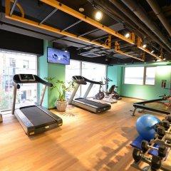 Отель A First Myeong Dong Сеул фитнесс-зал