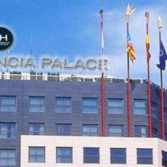 Отель SH Valencia Palace Испания, Валенсия - 1 отзыв об отеле, цены и фото номеров - забронировать отель SH Valencia Palace онлайн приотельная территория