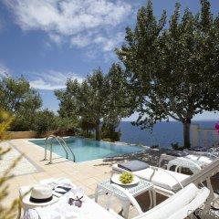 Отель Danai Beach Resort & Villas Ситония бассейн