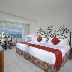 Отель Oasis Palm Hotel Мексика, Канкун - 9 отзывов об отеле, цены и фото номеров - забронировать отель Oasis Palm Hotel онлайн комната для гостей фото 2
