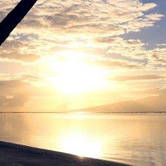 Отель Sofitel Moorea la Ora Beach Resort Французская Полинезия, Папеэте - 1 отзыв об отеле, цены и фото номеров - забронировать отель Sofitel Moorea la Ora Beach Resort онлайн пляж