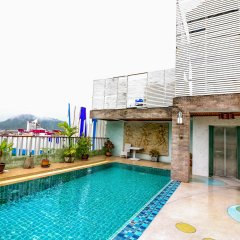 Отель NIDA Rooms Patong 179 Phang Center бассейн