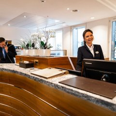 Hotel Glärnischhof Цюрих интерьер отеля фото 3