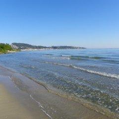 Отель Mirabelle Hotel Греция, Аргасио - отзывы, цены и фото номеров - забронировать отель Mirabelle Hotel онлайн пляж фото 2
