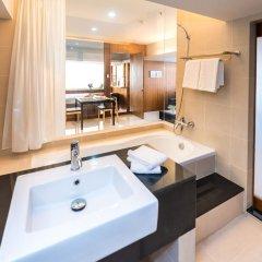 Апартаменты Laemtong Service Apartment ванная