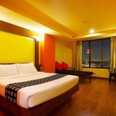 Отель Bangkok Cha-Da Hotel Таиланд, Бангкок - отзывы, цены и фото номеров - забронировать отель Bangkok Cha-Da Hotel онлайн комната для гостей фото 4