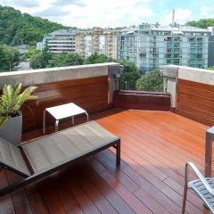 Отель Silken Amara Plaza Испания, Сан-Себастьян - 1 отзыв об отеле, цены и фото номеров - забронировать отель Silken Amara Plaza онлайн балкон