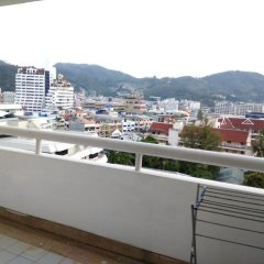 Отель Patong Tower Holiday Rentals Патонг балкон