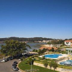 Hesperia Isla De La Toja Hotel Эль-Грове приотельная территория