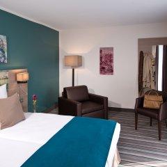 Отель Leonardo Hotel Munich City Olympiapark Германия, Мюнхен - 2 отзыва об отеле, цены и фото номеров - забронировать отель Leonardo Hotel Munich City Olympiapark онлайн комната для гостей фото 4