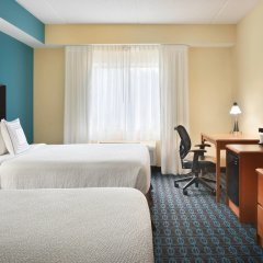 Отель Fairfield Inn And Suites By Marriott Mall Of America Блумингтон комната для гостей фото 4