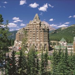 Отель Fairmont Banff Springs балкон