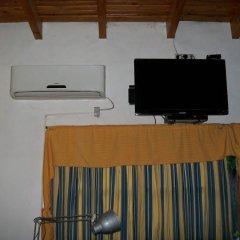 Отель Cabaña del Parque Сан-Рафаэль сейф в номере