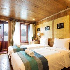 Отель Bhaya Cruises Халонг комната для гостей фото 4