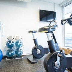 Отель Comwell Hvide Hus Aalborg Дания, Алборг - отзывы, цены и фото номеров - забронировать отель Comwell Hvide Hus Aalborg онлайн фитнесс-зал фото 4