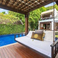 Отель The Emerald Beach Villa 4 Таиланд, Самуи - отзывы, цены и фото номеров - забронировать отель The Emerald Beach Villa 4 онлайн бассейн фото 3