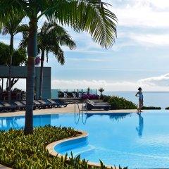 Отель Pestana Casino Park Hotel & Casino Португалия, Фуншал - 1 отзыв об отеле, цены и фото номеров - забронировать отель Pestana Casino Park Hotel & Casino онлайн бассейн фото 3