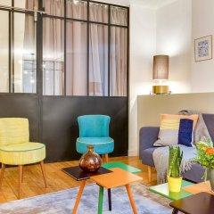 Отель Sweet Inn Apartments Saint Germain Франция, Париж - отзывы, цены и фото номеров - забронировать отель Sweet Inn Apartments Saint Germain онлайн интерьер отеля