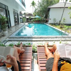 Отель Tropical Garden Homestay Villa бассейн фото 2
