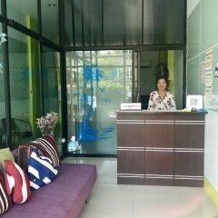 Only Blue Hotel интерьер отеля