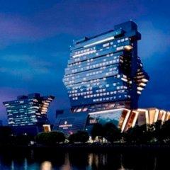 Отель Langham Place Guangzhou Гуанчжоу вид на фасад
