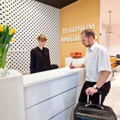 Отель Platinum Palace Apartments Польша, Познань - отзывы, цены и фото номеров - забронировать отель Platinum Palace Apartments онлайн интерьер отеля фото 2