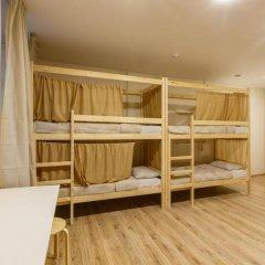 Nice Hostel Павелецкая Стандартный номер с двуспальной кроватью фото 4