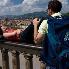 Отель Camping Michelangelo Флоренция приотельная территория