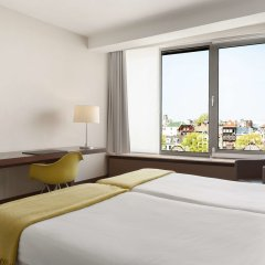 Отель NH Amsterdam Caransa Нидерланды, Амстердам - 1 отзыв об отеле, цены и фото номеров - забронировать отель NH Amsterdam Caransa онлайн комната для гостей фото 2