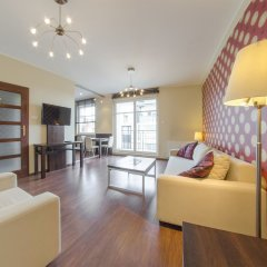 Апартаменты Dom And House Apartments Parkur Sopot Сопот комната для гостей фото 4