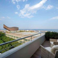 Отель Pullman Barcelona Skipper Испания, Барселона - 2 отзыва об отеле, цены и фото номеров - забронировать отель Pullman Barcelona Skipper онлайн пляж фото 2