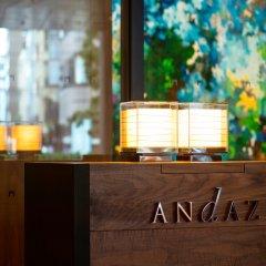 Отель Andaz Tokyo Toranomon Hills - a concept by Hyatt Япония, Токио - 1 отзыв об отеле, цены и фото номеров - забронировать отель Andaz Tokyo Toranomon Hills - a concept by Hyatt онлайн бассейн фото 3