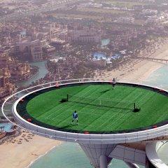 Отель Burj Al Arab Jumeirah спортивное сооружение