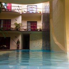 Отель Kinbe Deluxe Boutique Плая-дель-Кармен бассейн
