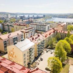 Апартаменты Local Nordic Apartments - Snowy Owl Ювяскюля балкон