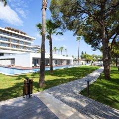 Отель Barut Acanthus & Cennet - All Inclusive парковка