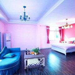 Отель The Inn of Sky-blue Bay Китай, Сямынь - отзывы, цены и фото номеров - забронировать отель The Inn of Sky-blue Bay онлайн комната для гостей фото 2